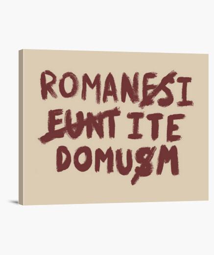 Romani ite domum lienzo