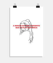 Rosalía, «A ningún hombre»