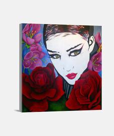 roses pop art aurora