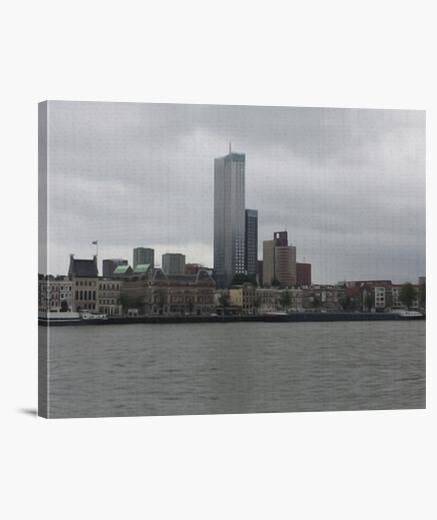 Rotterdam Skyline lienzo