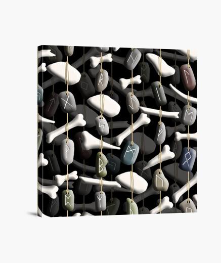 Runes and bones 033b 2019 runes and bones canvas