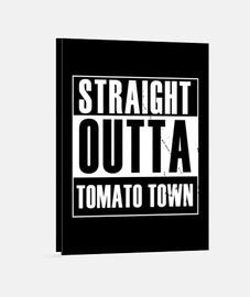 salida directa de la ciudad de tomate