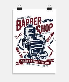 salon de coiffure vintage