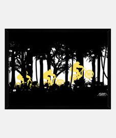 salto bosque