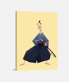 Samurai - Lienzo