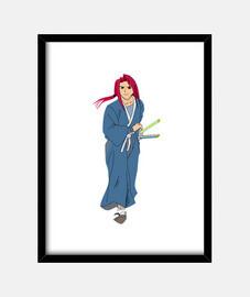 Samurai cuadro