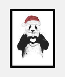 santa - panda