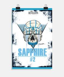 Sapphire skull - Poster