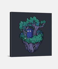 scatola foresta