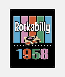 scatola vintage 1958 rockabilly vintage rock and roll usa rock music rockers anni '50