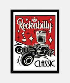 scatola vintage musica rockabilly hotrod vintage rocker usa rock and roll