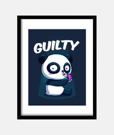 schuldiger Panda