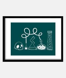 science - framed frame