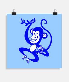 scimmia blu