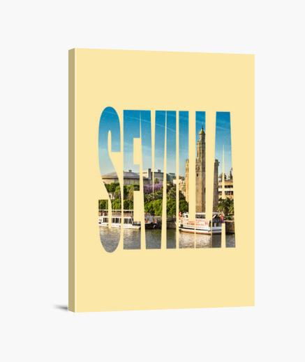 Lienzo Sevilla - My city of love