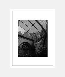 shadows - frame with vertical white frame 3: 4 (15 x 20 cm)