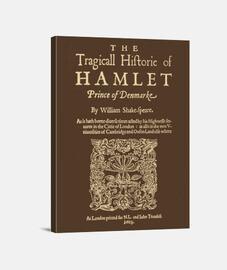 Shakespeare, Hamlet 1603 (dark T)