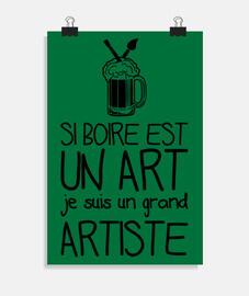 si beber es un arte