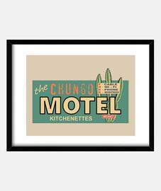 signe de motel minable