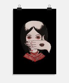 Silencio. Póster vertical 2:3 - (20 x 30 cm)