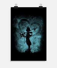 silhouette de coeur