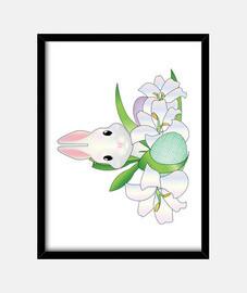 Simpático conejo