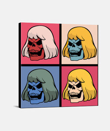 Skeletor Warhol