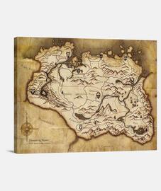 Skyrim Mapa