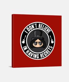 Slash Regrets Red Lienzo