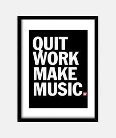 smettere di lavorare