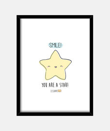 Smile you are a star