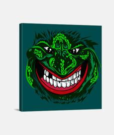 sonrisa de monstruo - (40 x 40 cm)