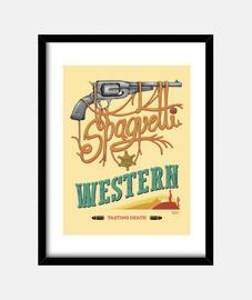 Spaguetti Western   Cuadro vertical