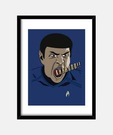 Spock Zachary Quinto Grito Khan