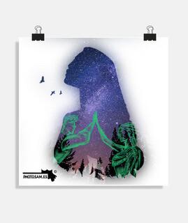 Square poster 1:1 - (40x40 cm)