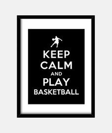 stai calmo e gioca a pallacanestro