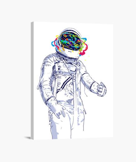 Stampa su tela spazio creativo