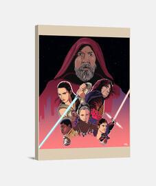 Star Wars - Lienzo Vertical 3:4 - (30 x 40 cm)