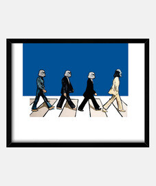 Star wars popart Beatles
