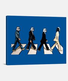 Star wars popart Beatles