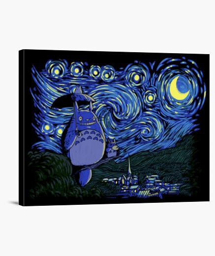 Starry-neighbor canvas