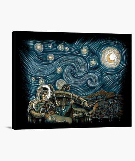 Lienzo Starry Labyrinth