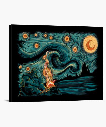 Lienzo Starry Souls