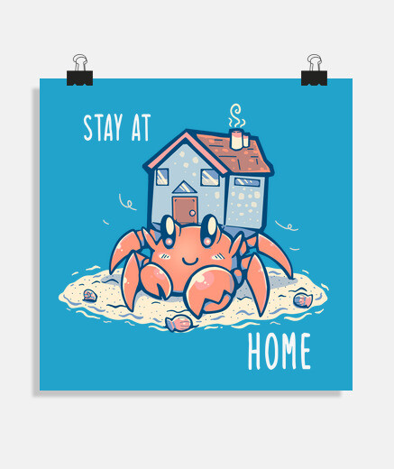 Stay at Home Hermit - Poster