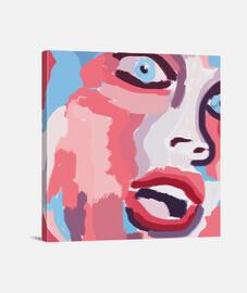 style de peinture femme pop art
