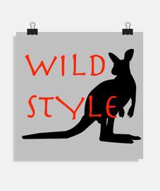 style wild il canguro