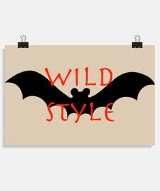 style wild il pipistrello