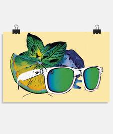 Summertime, Póster horizontal 3:2 - (30 x 20 cm)