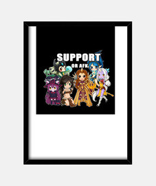 Support or AFK - League of Legends