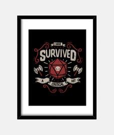 survivant de coup critique